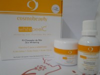 White Peel C - Kit clareador e Luminosidade -  60 g - Cosmobeauty